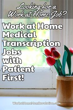 Patient First hires home-based medical transcriptionists to transcribe and proofread physician dictation, incoming correspondence, and more. If you're seeking transcription work from home, then this might be right for you! Earn Money Fast, Ways To Earn Money, Earn Money From Home, Earn Money Online, Make Money Blogging, Way To Make Money, Online Jobs, Earning Money, Medical Transcription Jobs
