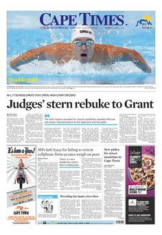 News making headlines: Judges' stern rebuke to Grant