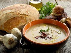 Суп грибной по-баварски