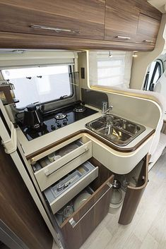 undefined - Overland Campervans - undefined The Effective Pictures We Offer You About van life layout A quality picture can tell you - Motorhome Interior, Campervan Interior, Boat Interior, Diy Interior, Vw Lt Camper, Camper Life, Sprinter Camper, Van Conversion Interior, Camper Van Conversion Diy