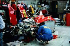 ferrari F1156/85 Belgium 1985