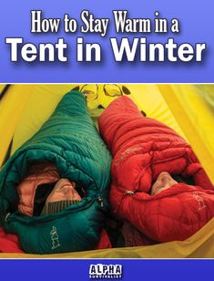 It may sound like something that everyone should know but I'm pretty sure most of us have had a cold camping experience at some point. Don't let it be the next time! #alphasurvivalist #tent #tents #tentcamping #besttentforcamping #bestcoldweathertents #survival #survivaltents #survivalshelter