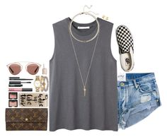 """""""go wild, for a while."""" by katie-tx ❤ liked on Polyvore featuring Hope, Kendra Scott, Vans, Louis Vuitton, Casetify, NARS Cosmetics, Marc by Marc Jacobs, Cartier, BaubleBar and Christian Dior"""