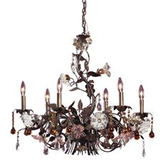 Gallery Crystal 12-Light Chandelier | Chandeliers, Bath and Lights