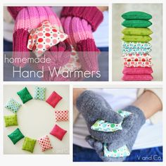 V and Co.: V and Co: Toasty rice Hand Warmers with Lavender