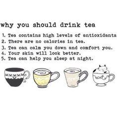 Benefits of having Tea