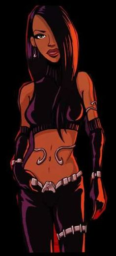LOVE Her Music, Music Is Life, Selena Q, Aaliyah Haughton, Hip Hop Fashion, Character Design Inspiration, One In A Million, Cool Artwork, Black Art