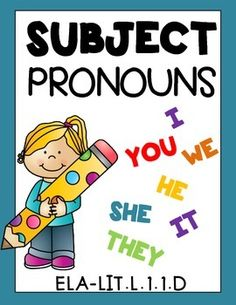 PRONOUNS! SUBJECT PRONOUNS! Grade 1 Worksheets Common Core Aligned 15 Pages! Just print and go!Common Core aligned to :CCSS.ELA-LITERACY.L.1.1.D***Please see the animated GIF to know what you'll be purchasing***Thank you for stopping by.Feel free to become a follower to get the latest freebies and newest upload updates.NEED OBJECT PRONOUN worksheets?PRONOUNS!