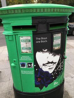 Thin Lizzy, Post Box, Post Office, Ireland, Irish, Boxes, Music, Musica, Crates