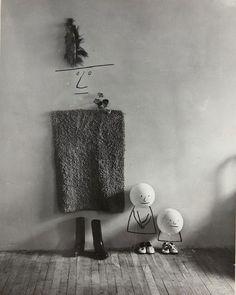 Saul_steinberg_mother_children_1950