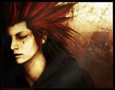 Axel from Kingdom Hearts! Not mine! Gotten off of DeviantART!!