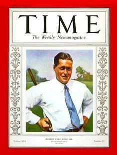 Bobby Jones   Sep. 22, 1930 - Robert 'Bobby' Tyre Jones Jr.
