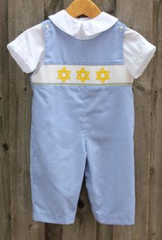 bb4304f1d9 Star of David Longall from Smocked Auctions Star Of David
