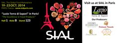 Facebook Cover SIAL Paris 2014 - Lazio Terra di Sapori http://www.lazioterradisapori.it