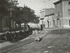 Spain - 1937. - GC - Thälmann brigade - Grosse Wäsche auf der Strasse von Valencia nach Manises einem Vororte Valencias.