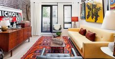 Shoe-box living doesn't have to equaldark rooms, cramped closets, and kitchens that double as bathrooms. In New York City, we've pretty muchseen it all when it comes to surprisingreal estate — but the most surprising of all is when a teeny apartment actually manages to useits size to its