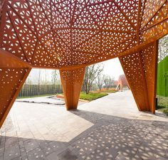 fengming mountain park ~ martha schwartz partners