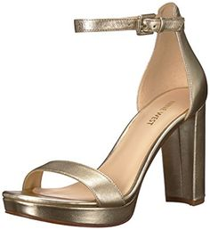 7b20666b1cf Gentle Souls By Kenneth Cole Kiki Platform Sandals Soft Leather US Size 6M  gold