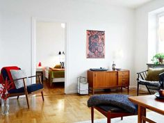 Modern-Vintage-Elements-and-Contemporary-Apartment-Decorating-Design-Ideas