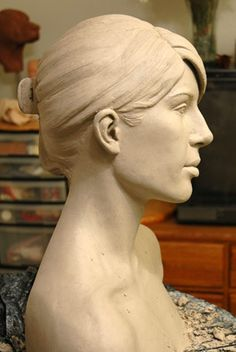 portrait-sculpture.com :: View topic - Traditional ceramic bust demonstration