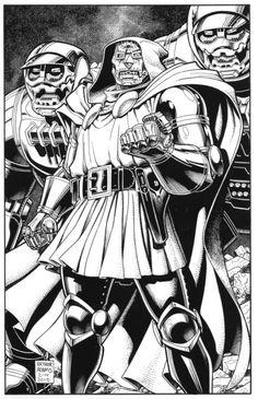 Dr.Doom (Art by Arthur Adams)