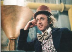 Gene Wilder in Willie Wonka and the Chocolate Factory