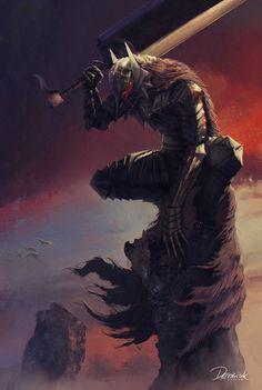 The Black Swordsman by Nefillim.deviantart.com on @deviantART Berserk