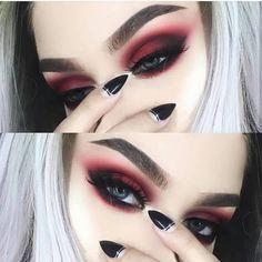 Gorgeous Makeup: Tips and Tricks With Eye Makeup and Eyeshadow – Makeup Design Ideas Makeup Goals, Makeup Inspo, Makeup Inspiration, Makeup Tips, Beauty Makeup, Hair Beauty, Makeup Hacks, Makeup Ideas, Makeup Style