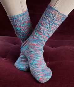 Colorful Lace Socks