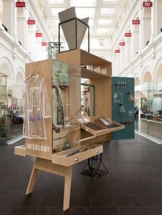 Mixology Carts by Gloss Creative and Fabio Ongarato Design