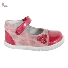 Chaussures pour Fille KICKERS 413500-10 TREMIMI ROSE LEOPARD Taille 19 - Chaussures kickers (*Partner-Link)