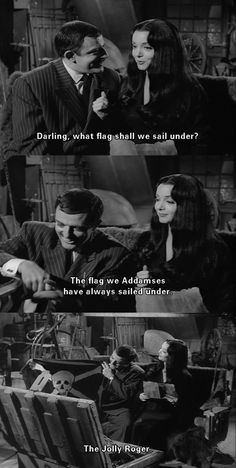 The Addams family is descended from Captain Hook?
