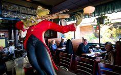 The McMenamins Shewood Pub! You gotta visit the frog!