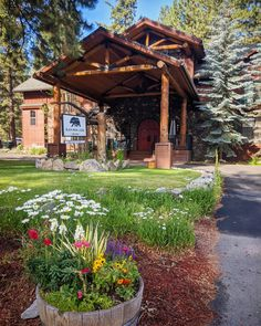 "Black Bear Lodge on Instagram: ""Good morning! ☀️ . . . #laketahoe #tahoesouth #tahoewedding #laketahoeweddingvenue #laketahoeelopement #boutiquehotel #boutiquelodge #cabbi…"" Black Bear Lodge, Lake Tahoe, Pergola, Outdoor Structures, Instagram, Travel, Viajes, Outdoor Pergola, Destinations"