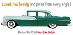 1956 Pontiac Star Chief in Hialeah Green-Glendale Green