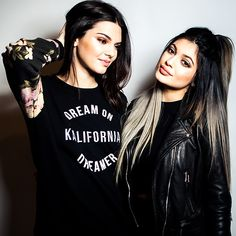Kendall and Kylie Jenner | Kirsten Miccoli for SPLASH