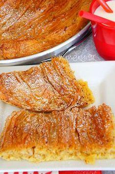 Greek Sweets, Greek Desserts, Greek Recipes, Yami Yami, Brunch, Sweet Tarts, Food Network Recipes, Food And Drink, Pie