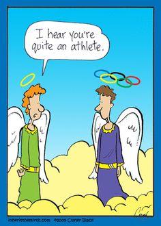 Kind of offensive but kinda funny! Bible Jokes, Bible Humor, Christian Comics, Christian Cartoons, Religious Jokes, Catholic Memes, Funny Christian Jokes, Christian Humor, Funny Cartoons