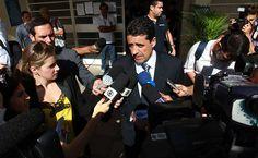Delegado diz que Mizael usou celular sem cadastro no dia do crime | O delegado Antônio Assunção de Olim, primeira testemunha ouvida nesta terça-feira no julgamento de Mizael Bispo de Souza, contou que o ex-policial usou um telefone não cadastrado para planejar a morte de sua ex-namorada Mércia Nakashima. http://mmanchete.blogspot.com.br/2013/03/delegado-diz-que-mizael-usou-celular.html#.UT9jHRxQGSo