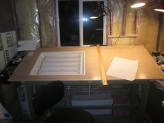 Who wants to learn how to make a light box/drawing table?