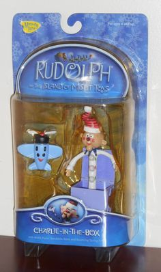 Charlie-in-the-Box Action Figure Rudolph & the Island of Misfit Toys Plane Airplane NIP Christmas Holidays, Merry Christmas, Christmas Decorations, Playing Mantis, Misfit Toys, Rudolph The Red, Red Nosed Reindeer, Sideshow Collectibles, Childhood Toys