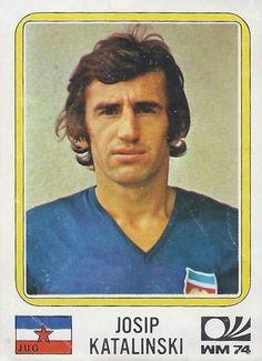 Josip Katalinskin - Yugoslavia - München 74 World Cup sticker 187 Panini Sticker, 1974 World Cup, Laws Of The Game, Football Stickers, Association Football, Most Popular Sports, World Cup Final, Vignettes, Baseball Cards