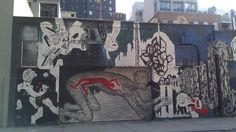dope wall in chelsea  nyc