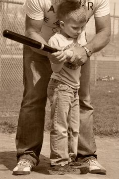 Father and Son Baseball #photography,..... I want this with Nick and Ashland