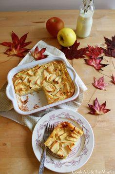 Apple Flognarde { French regional apple clafoutis }