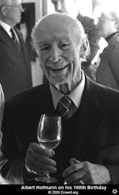 Albert Hoffman 100 years