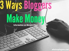 Three of the most common ways to earn money blogging are through ads, affiliates, and sponsored posts. Here's excellent info on how to make money blogging!