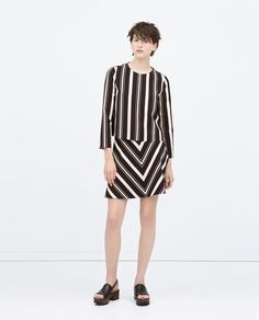 ZARA - COLLECTION SS15 - STRIPED FLARED SKIRT