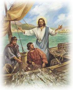 Jesus, the fisher of men