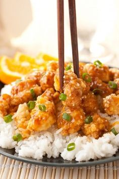 Chinese Orange Chicken. This is FABULOUS!!!!! Made it just like the recipe.